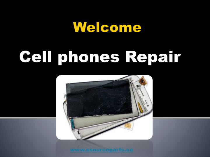 Cell phones repair