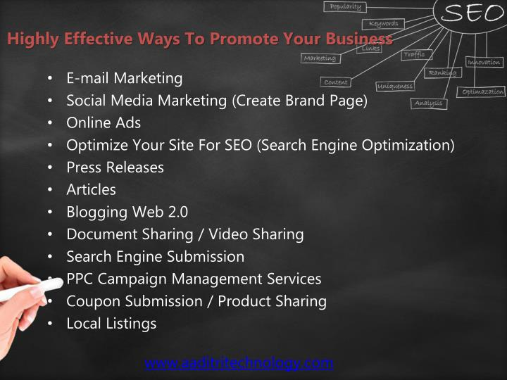 Highly Effective Ways To Promote Your Business