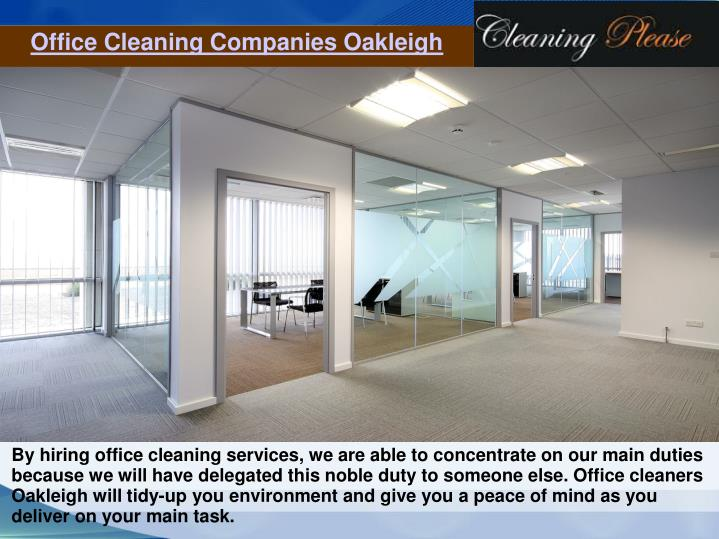 Office Cleaning Companies Oakleigh