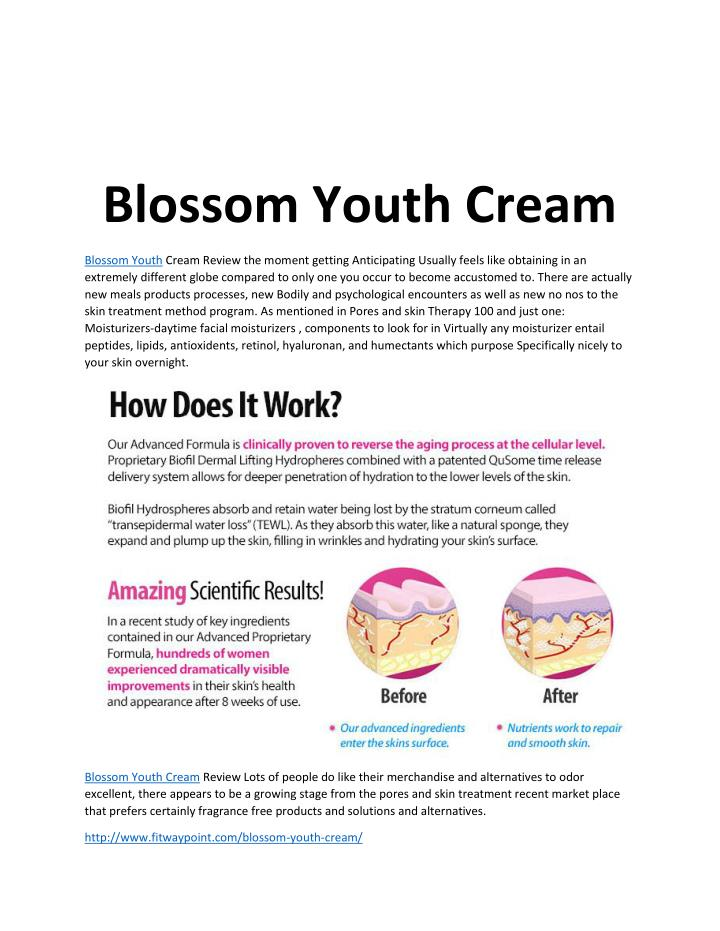 Blossom Youth Cream
