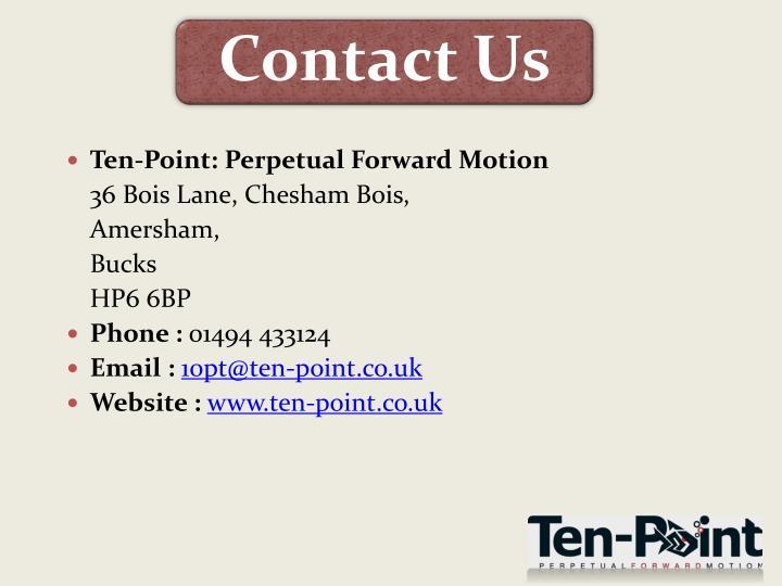 Ten-Point: Perpetual Forward Motion