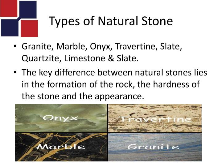 Types of Natural Stone