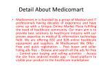 detail about medicomart