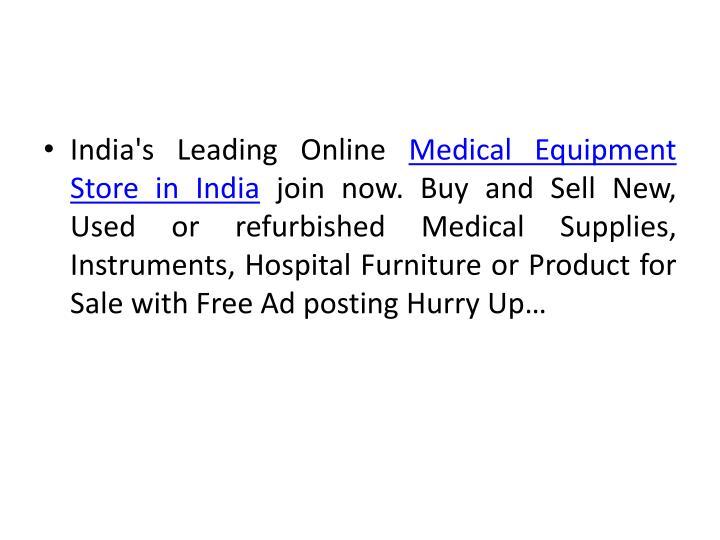 India's Leading Online