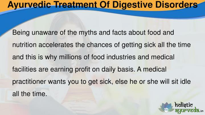 Ayurvedic Treatment Of Digestive Disorders