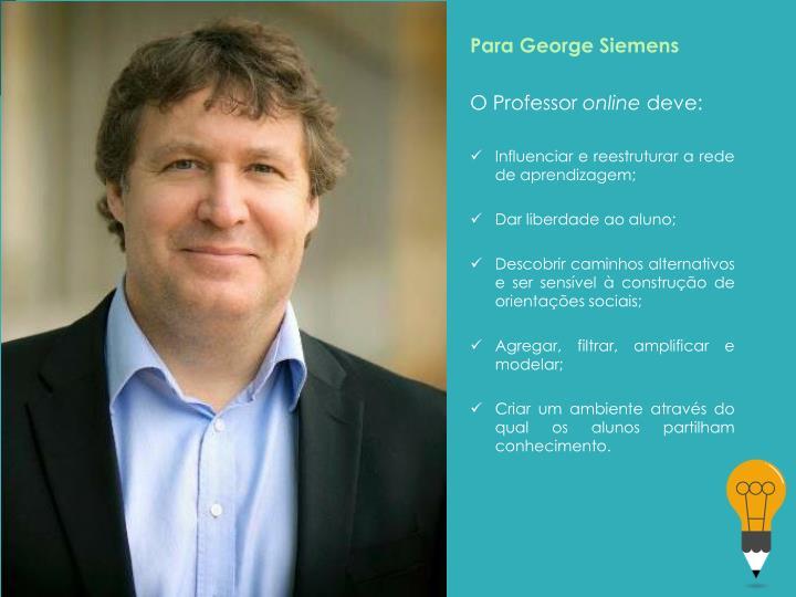 Para George Siemens