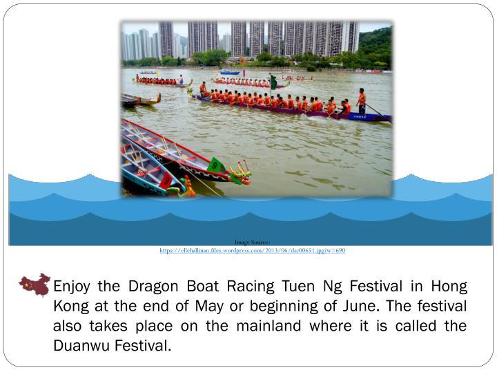 Enjoy the Dragon Boat Racing