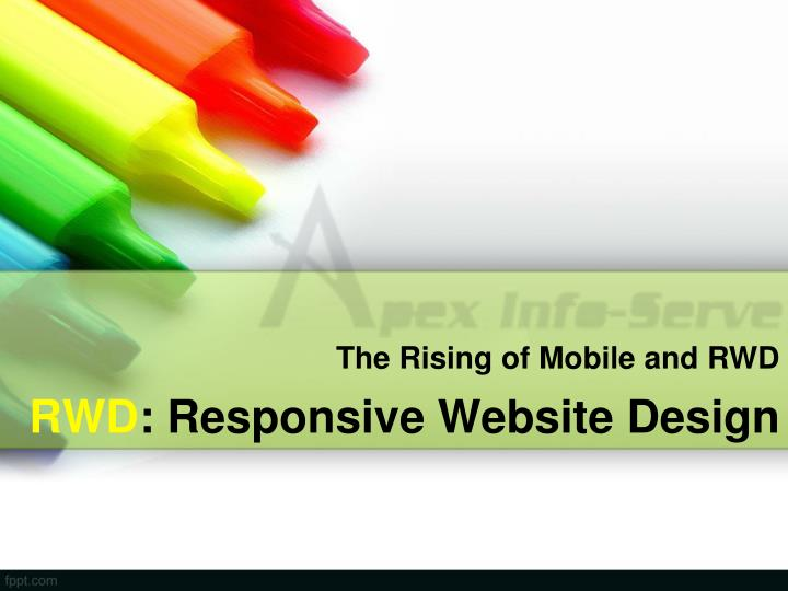Rwd responsive website design