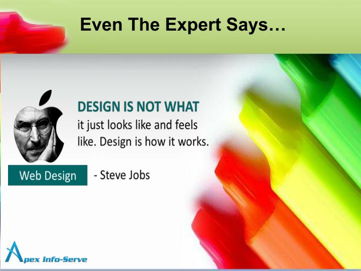 Even The Expert Says…