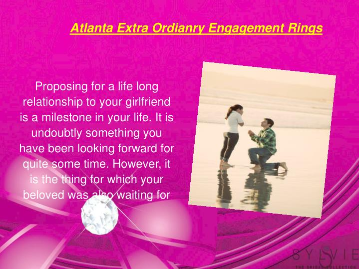 Atlanta Extra Ordianry Engagement Rings