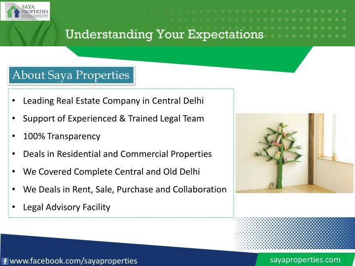 About Saya Properties