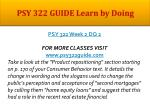 psy 322 guide learn by doing5
