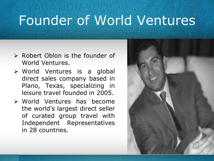 Founder of World Ventures