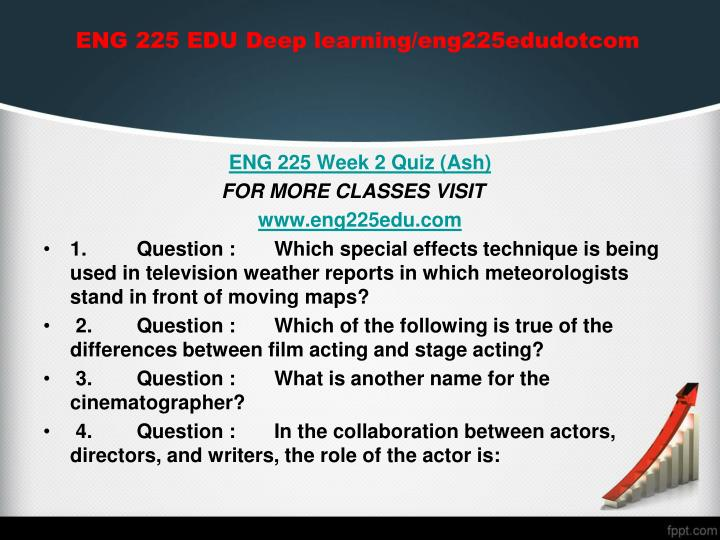ENG 225 EDU Deep learning/eng225edudotcom