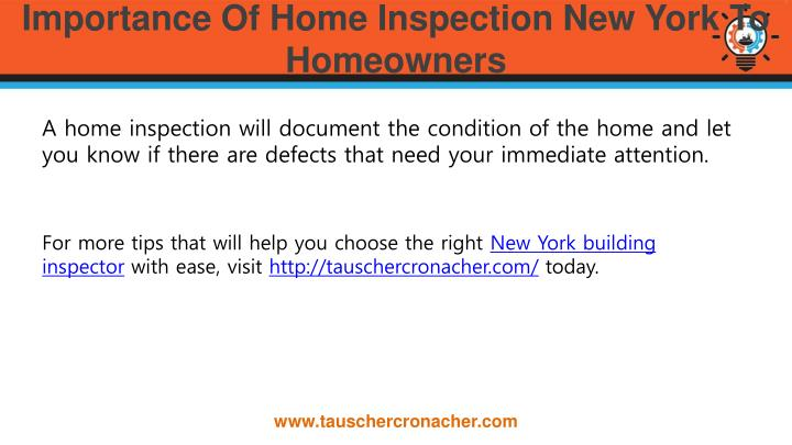 Importance Of Home Inspection New York To Homeowners