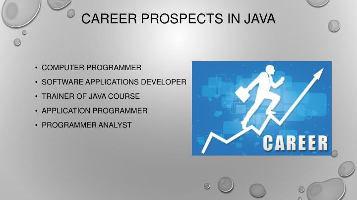 Career Prospects in Java