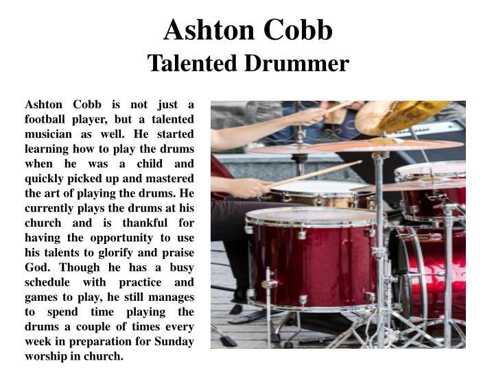 Ashton Cobb