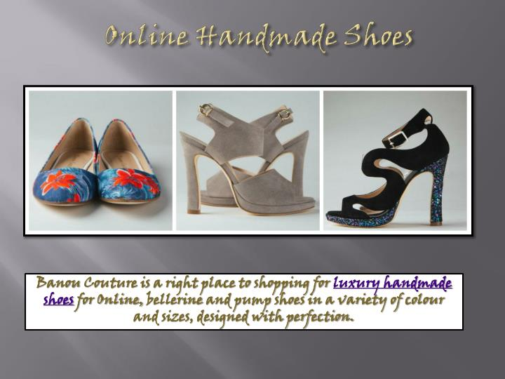 Online Handmade Shoes
