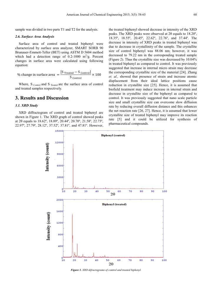 American Journal of Chemical Engineering 2015; 3(5): 58-65