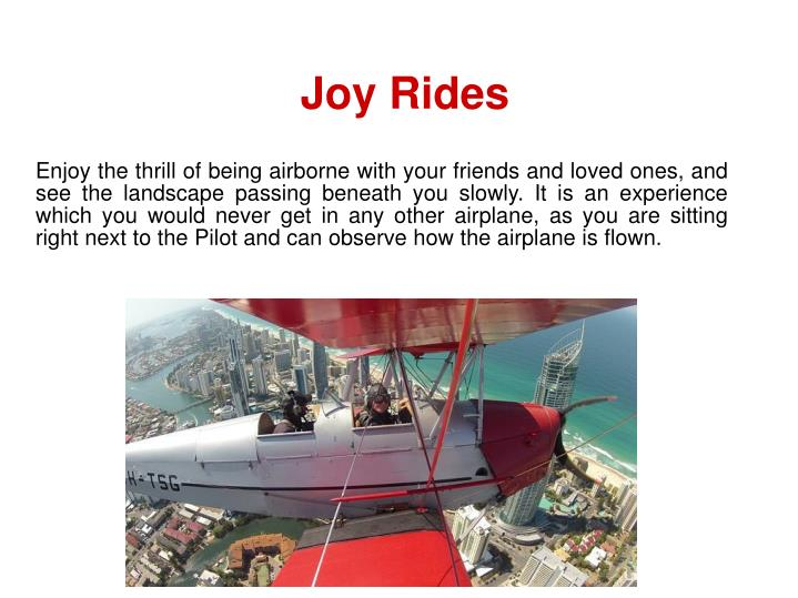 Joy Rides