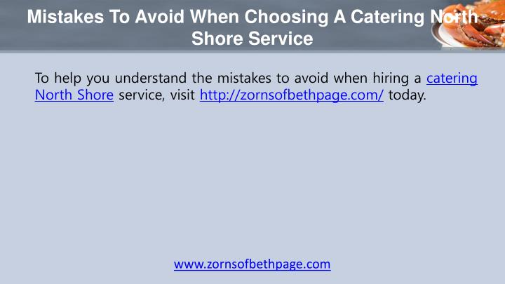Mistakes To Avoid When Choosing A Catering North