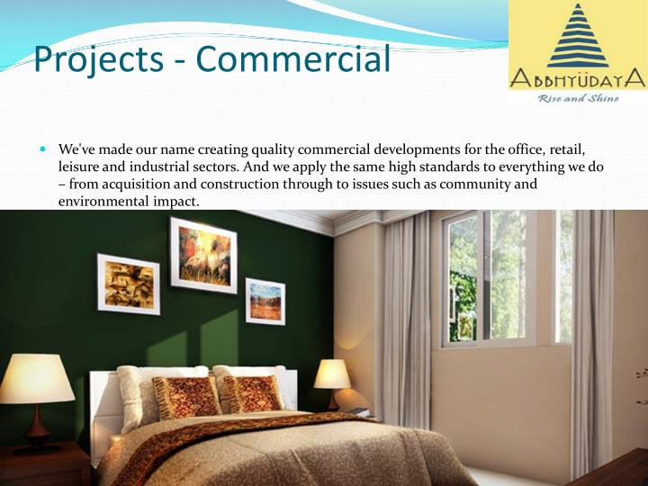 Projects - Commercial