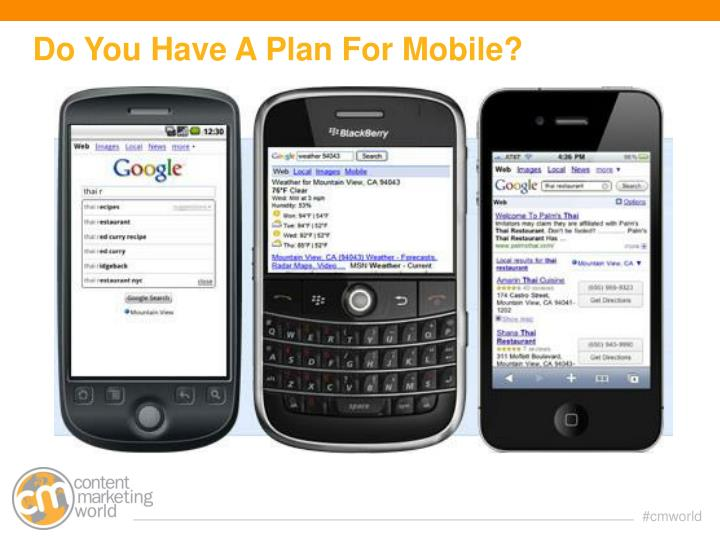 Do You Have A Plan For Mobile?
