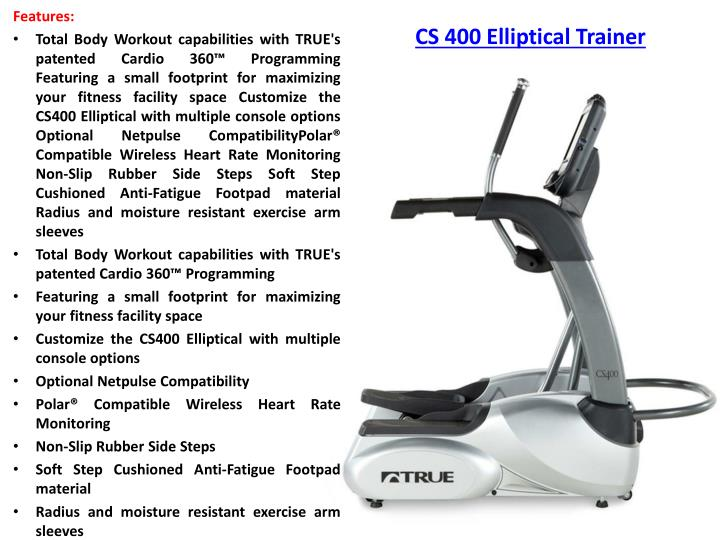 CS 400 Elliptical Trainer