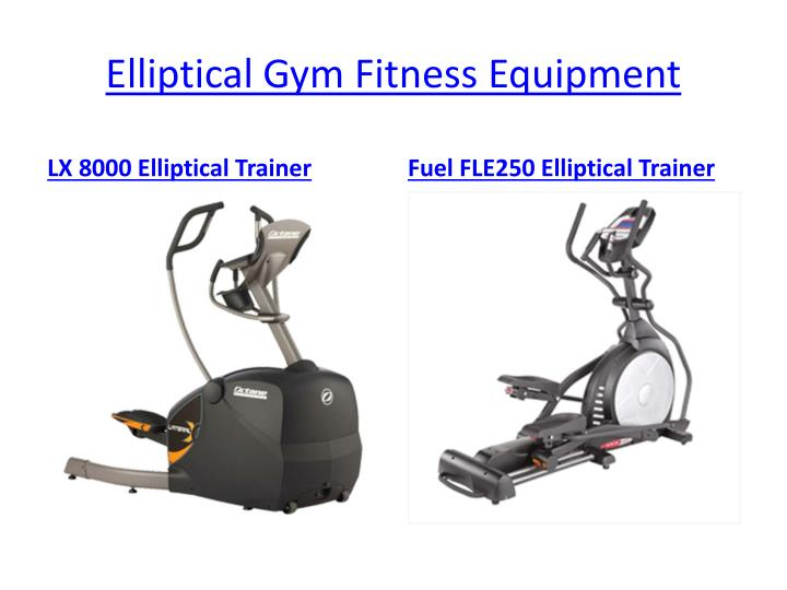 Elliptical Gym Fitness Equipment