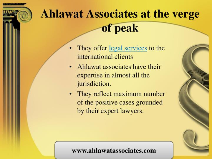 Ahlawat Associates at the verge of peak