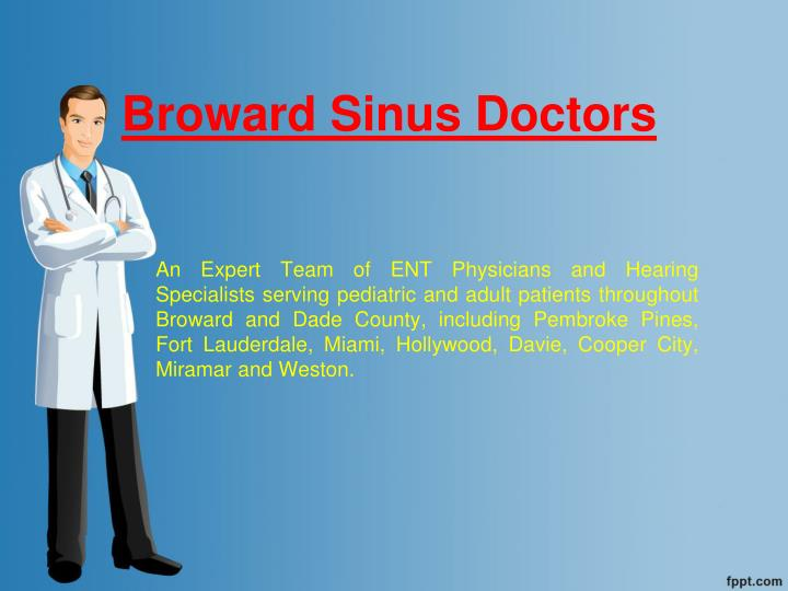 Broward sinus doctors