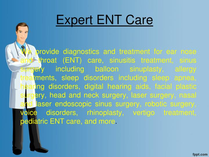 Expert ENT Care