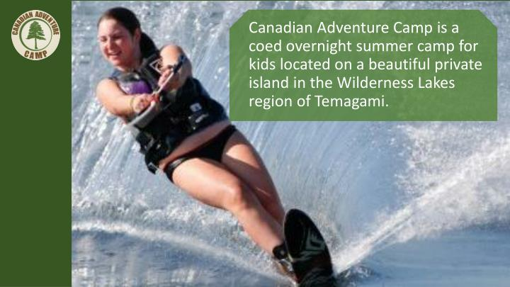 Canadian Adventure Camp is a