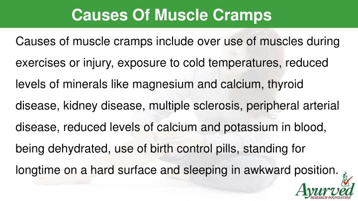 Causes Of Muscle