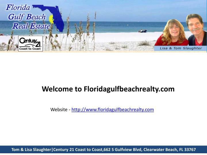 Welcome to Floridagulfbeachrealty.com