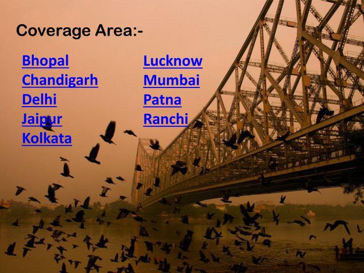 Coverage Area:-