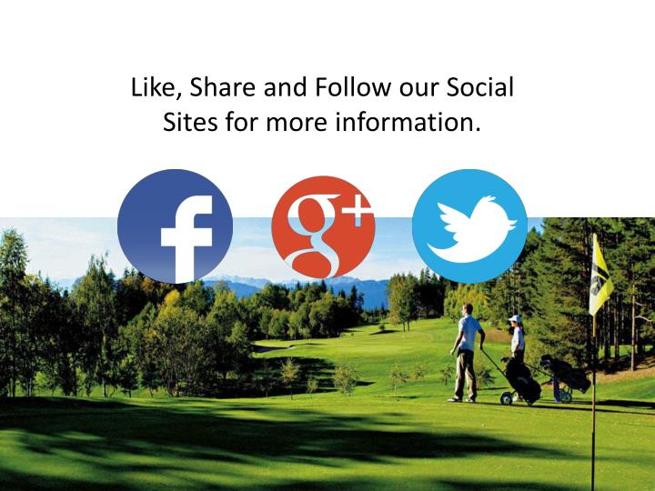 Like, Share and Follow our Social