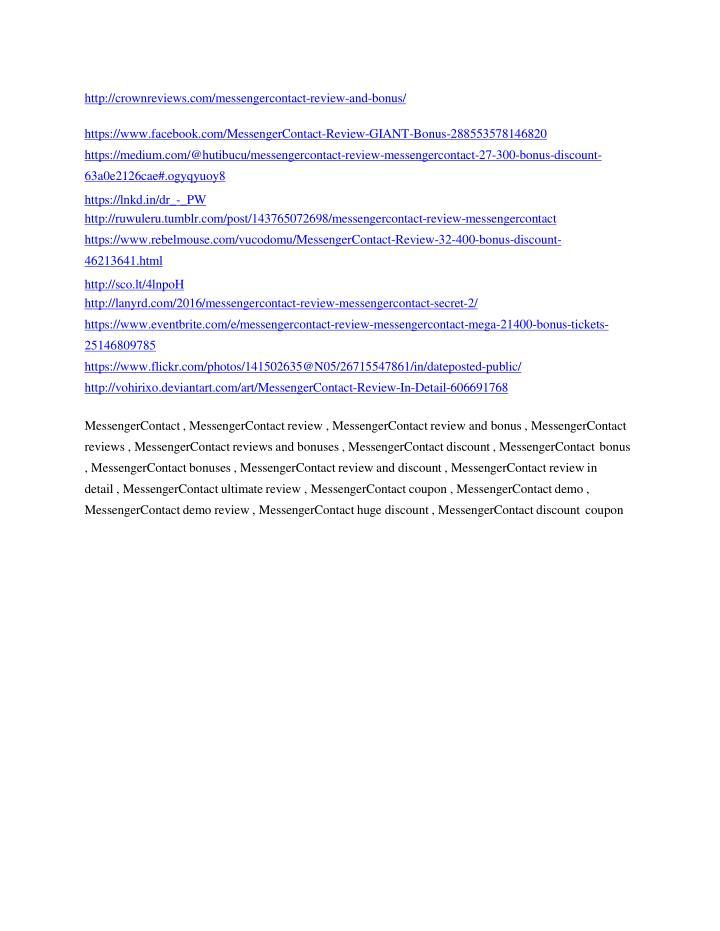 http://crownreviews.com/messengercontact-review-and-bonus/