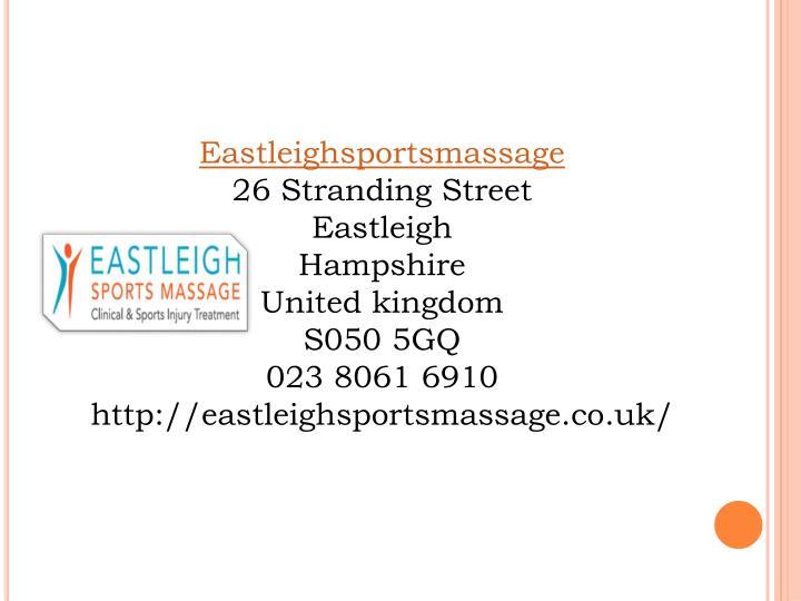 Eastleighsportsmassage