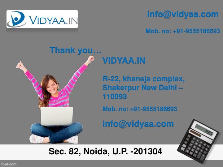 info@vidyaa.com