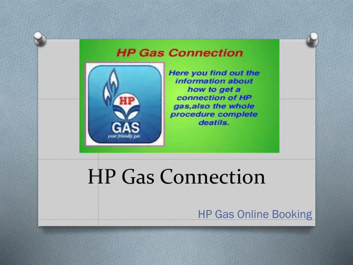 HP Gas Connection