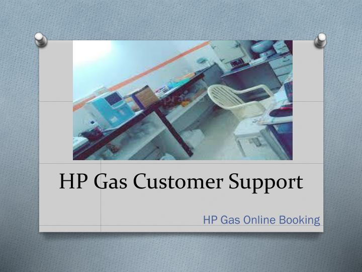 HP Gas Customer Support