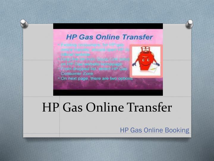 HP Gas Online Transfer