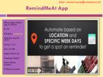 remindmeat app3