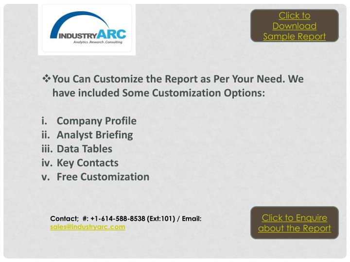Click to Download Sample Report