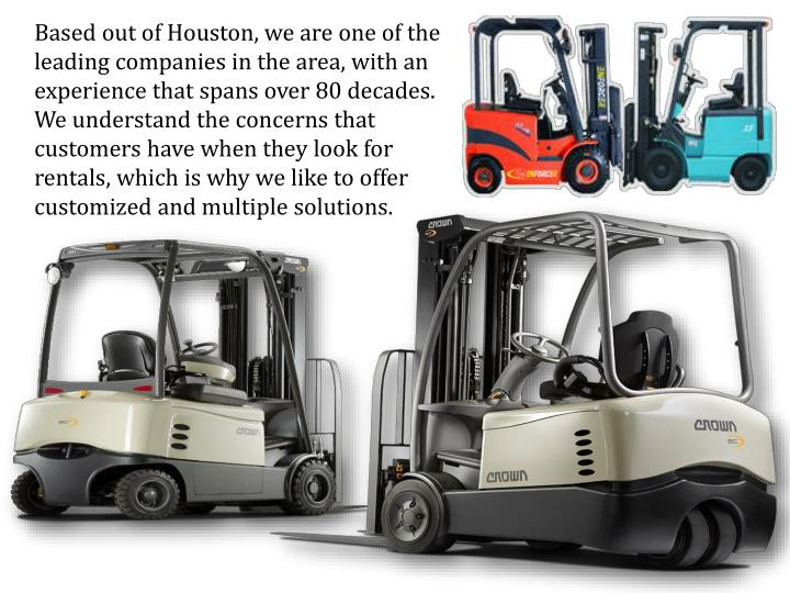 Based out of Houston, we are one of the leading companies in the area, with an experience that spans...