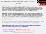 human biobanking ownership global trends estimates and forecasts 2014 20201