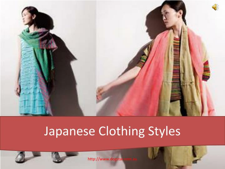 Ppt Japanese Clothing Styles Powerpoint Presentation Id 7335879