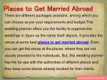 places to get married abroad