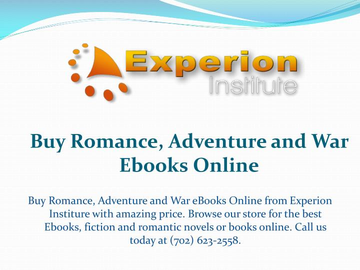Buy romance adventure and war ebooks o nline